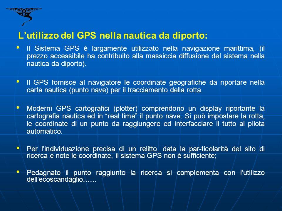L'utilizzo del GPS nella nautica da diporto: