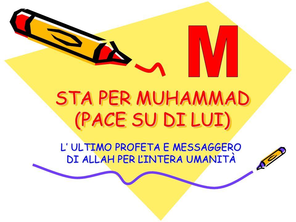 STA PER MUHAMMAD (PACE SU DI LUI)