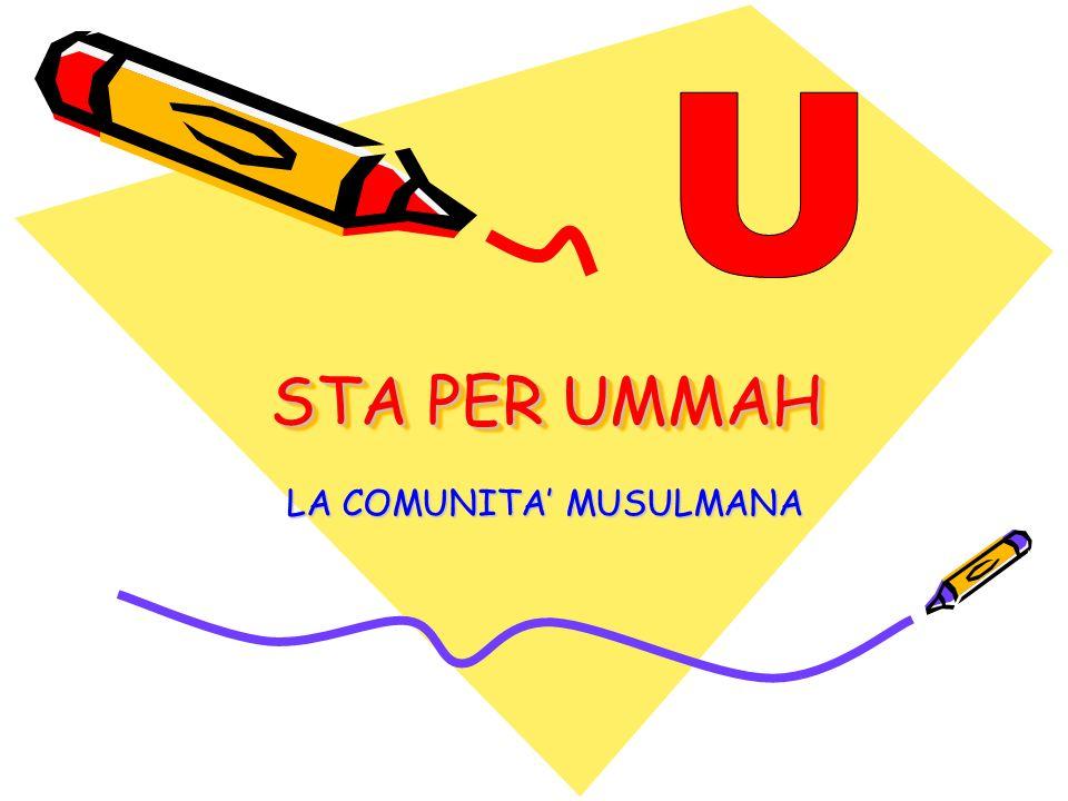 LA COMUNITA' MUSULMANA