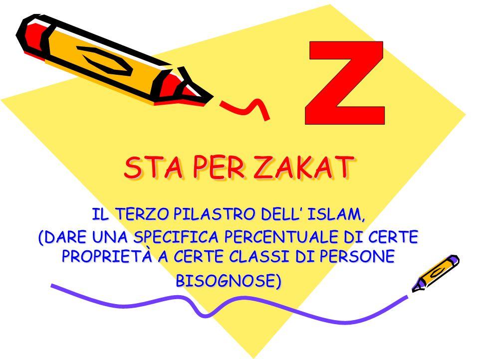 IL TERZO PILASTRO DELL' ISLAM,