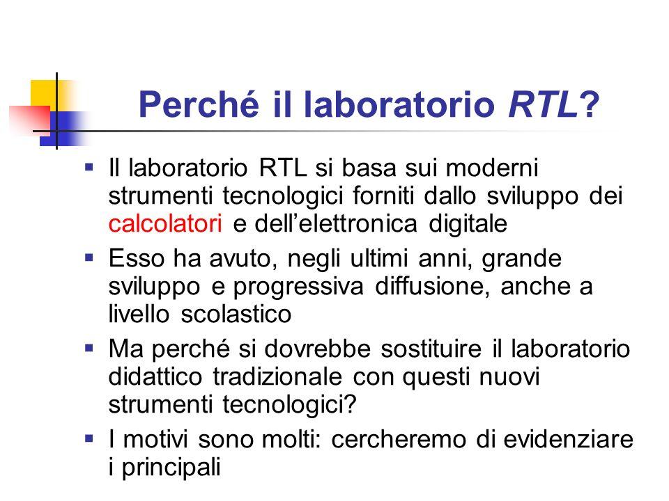 Perché il laboratorio RTL