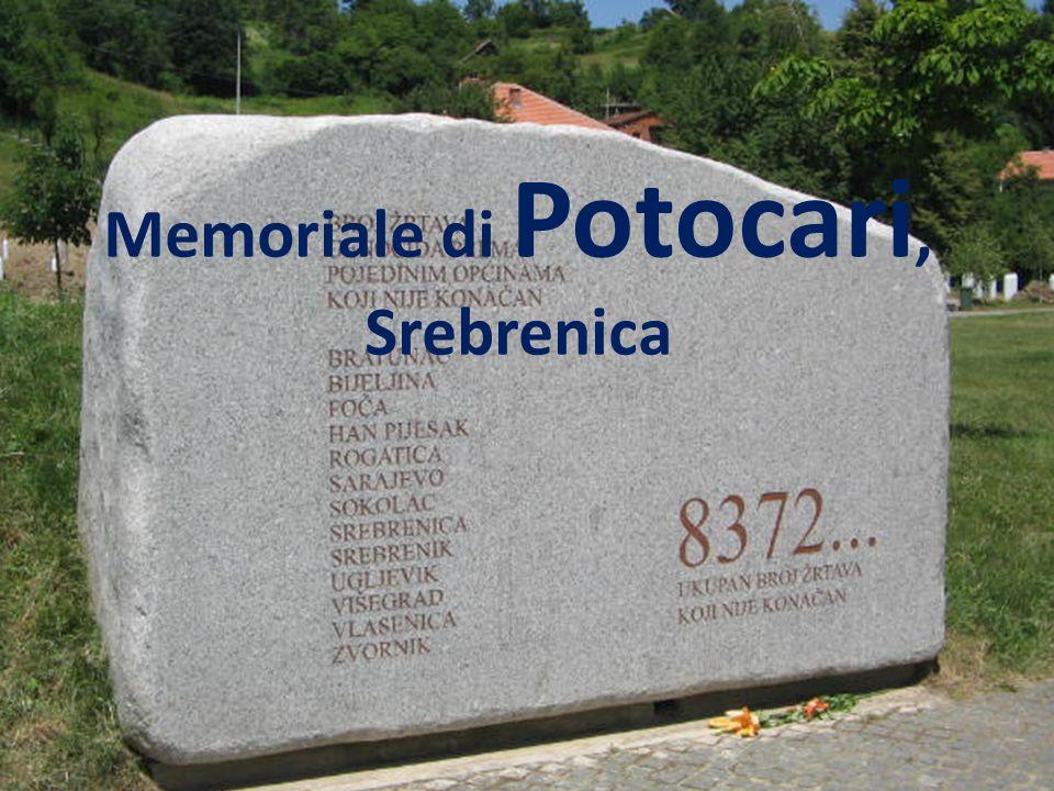 Memoriale di Potocari, Srebrenica