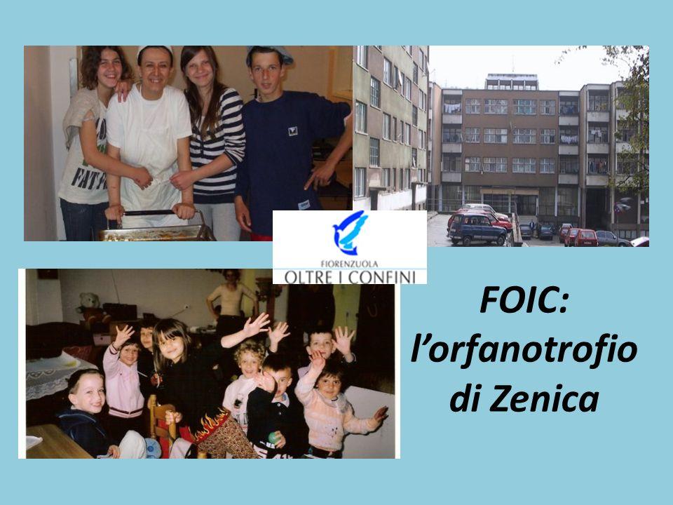 FOIC: l'orfanotrofio di Zenica