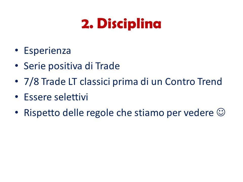 2. Disciplina Esperienza Serie positiva di Trade