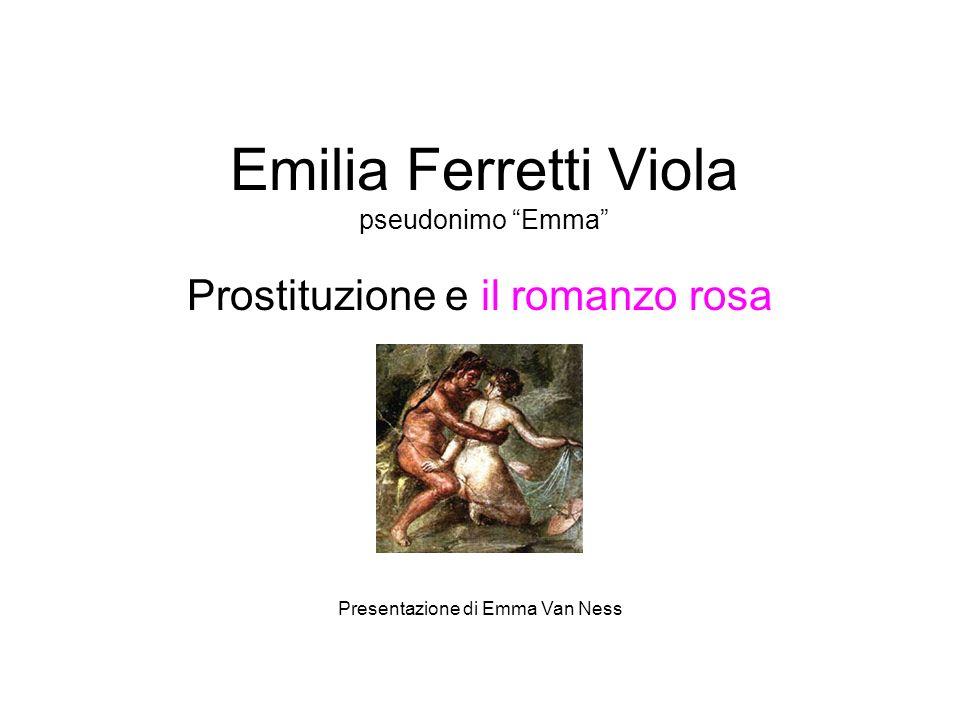Emilia Ferretti Viola pseudonimo Emma