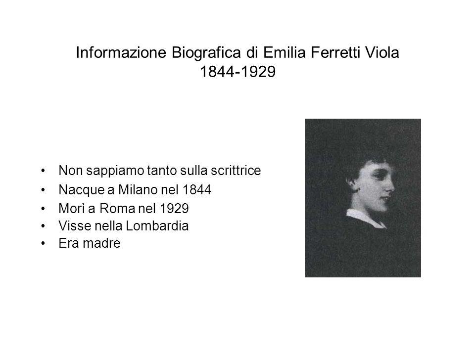 Informazione Biografica di Emilia Ferretti Viola 1844-1929