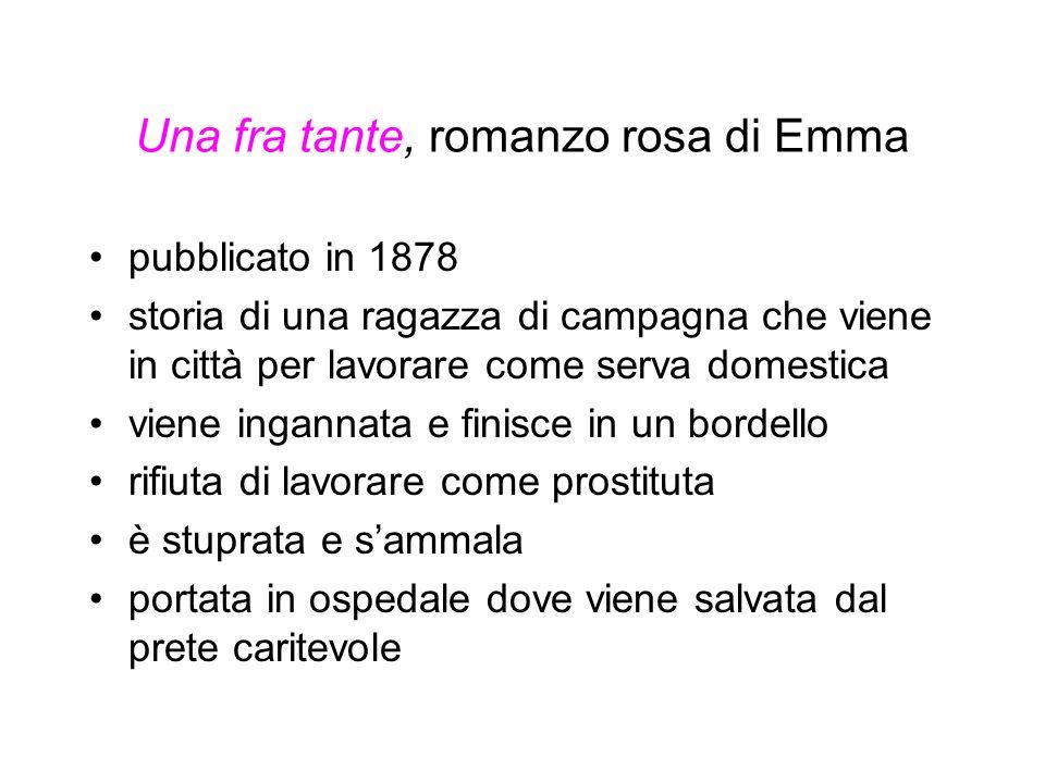Una fra tante, romanzo rosa di Emma