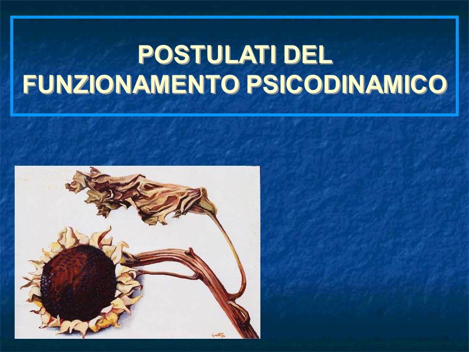 FUNZIONAMENTO PSICODINAMICO