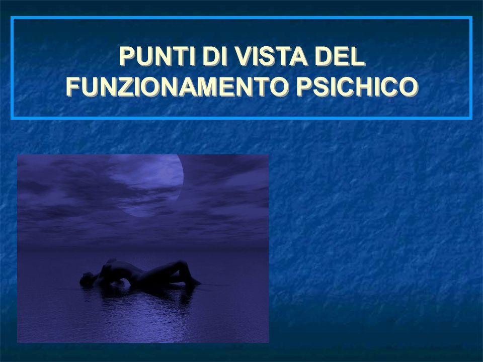 FUNZIONAMENTO PSICHICO