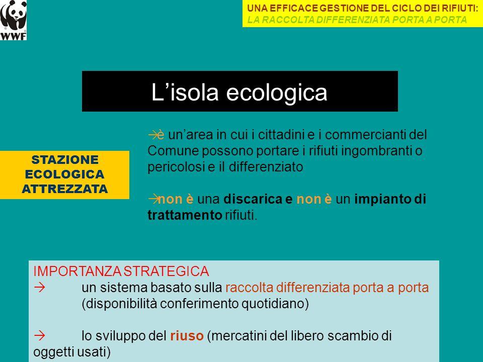 STAZIONE ECOLOGICA ATTREZZATA