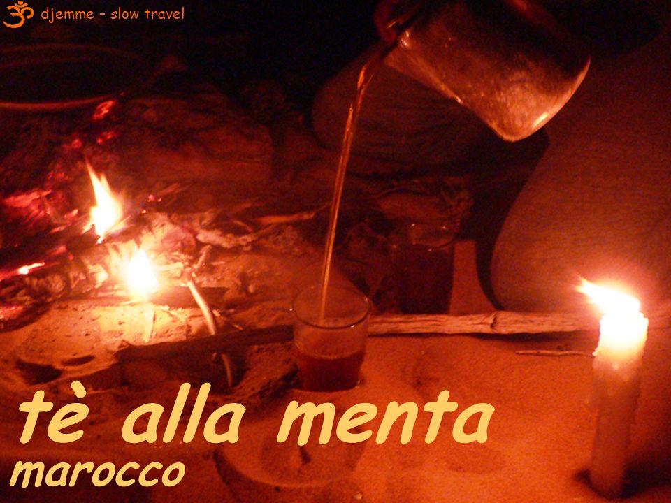 djemme – slow travel tè alla menta marocco