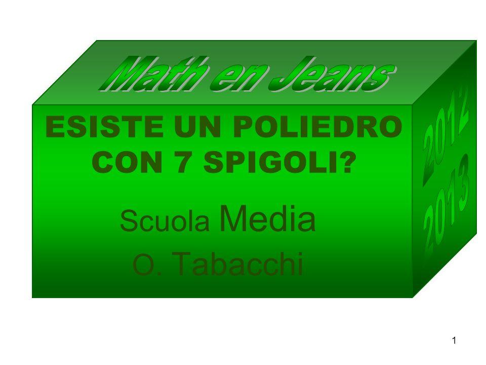 ESISTE UN POLIEDRO CON 7 SPIGOLI