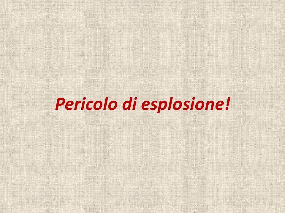 Pericolo di esplosione!