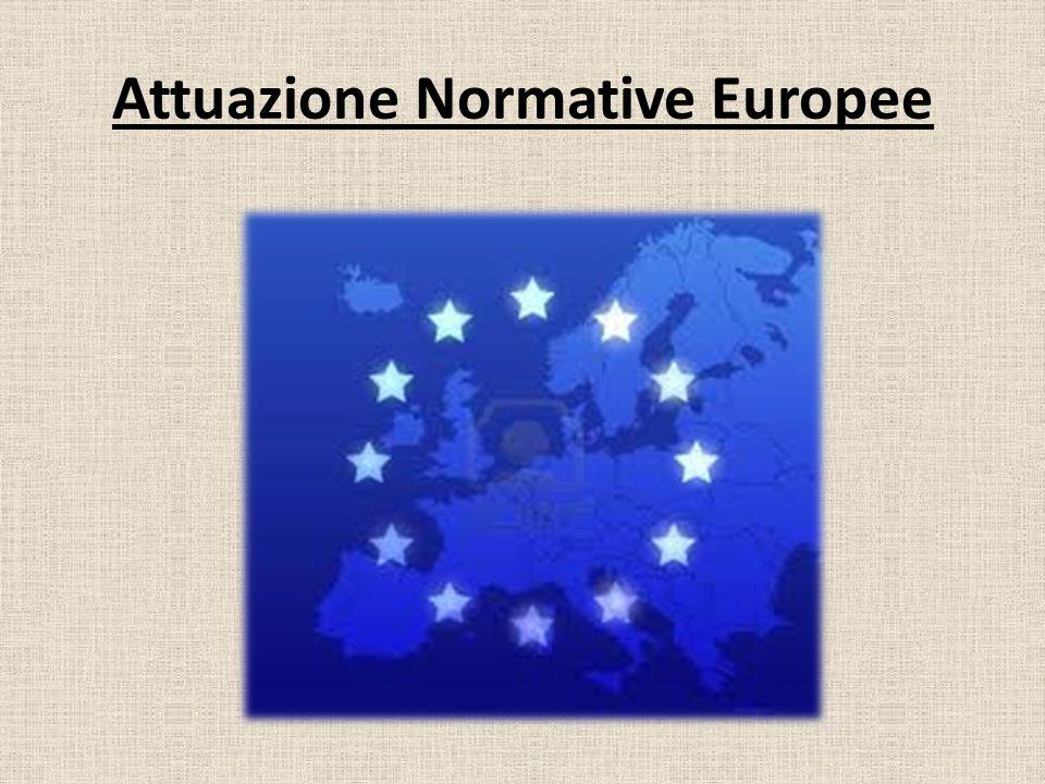 Attuazione Normative Europee