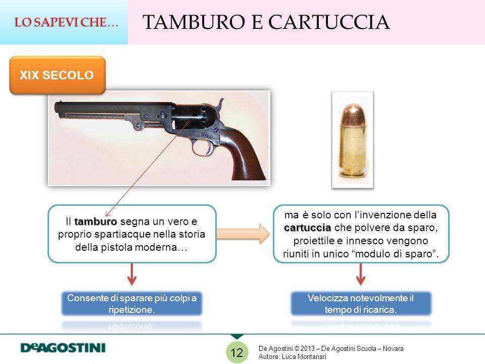 TAMBURO E CARTUCCIA LO SAPEVI CHE… XIX SECOLO 12