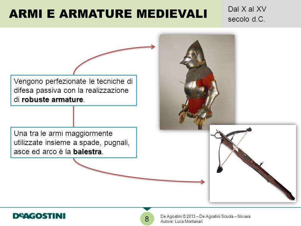 ARMI E ARMATURE MEDIEVALI