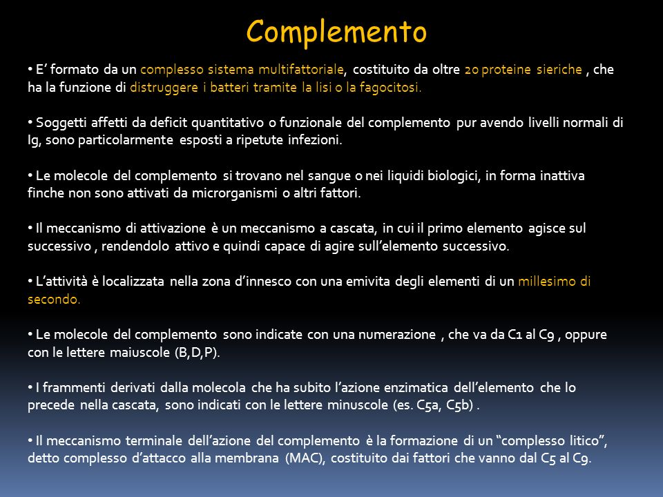 Complemento