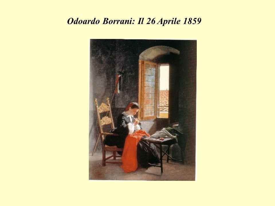 Odoardo Borrani: Il 26 Aprile 1859