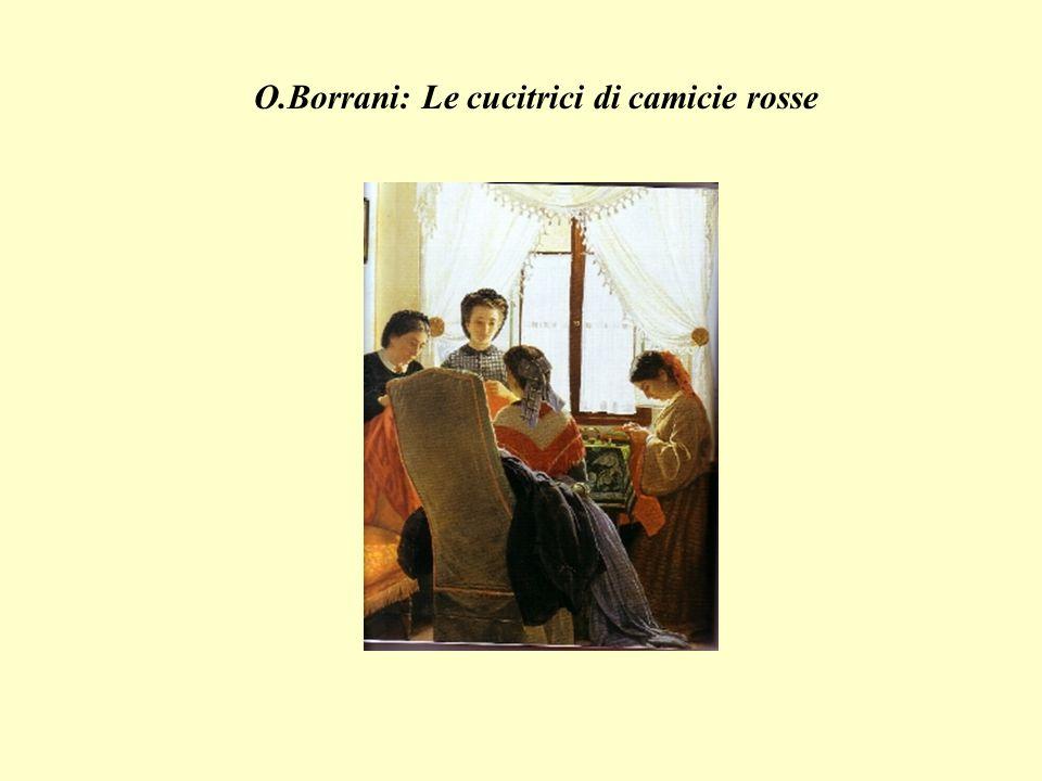O.Borrani: Le cucitrici di camicie rosse