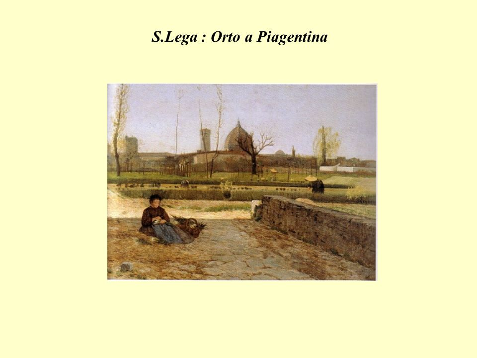 S.Lega : Orto a Piagentina