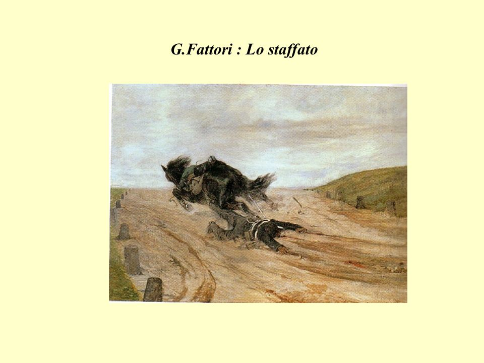 G.Fattori : Lo staffato