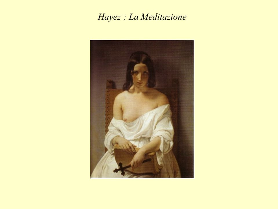 Hayez : La Meditazione