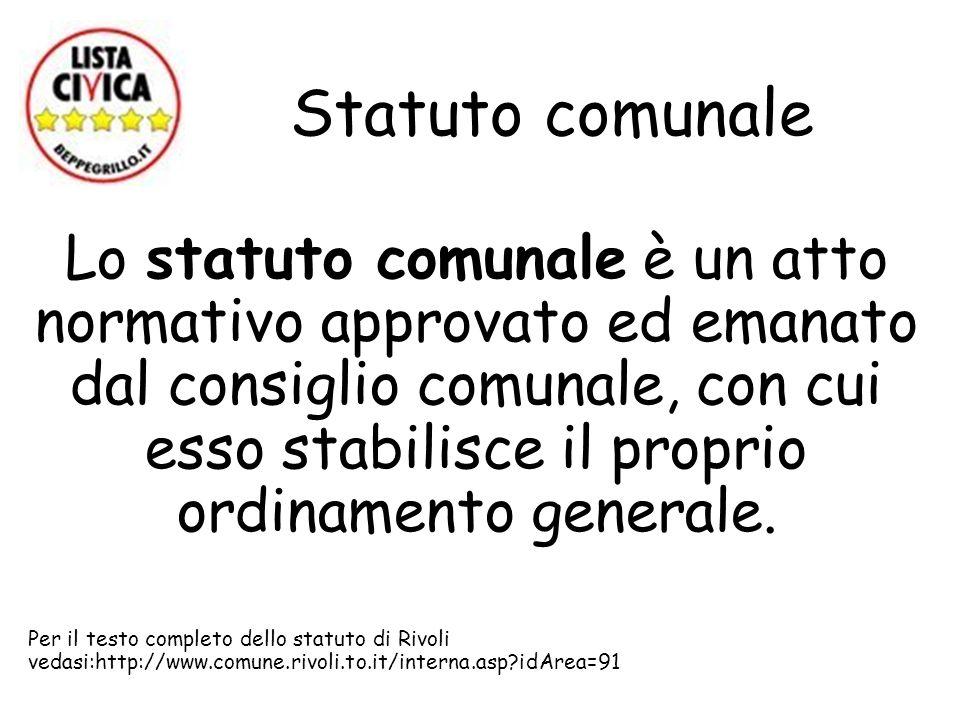 Statuto comunale