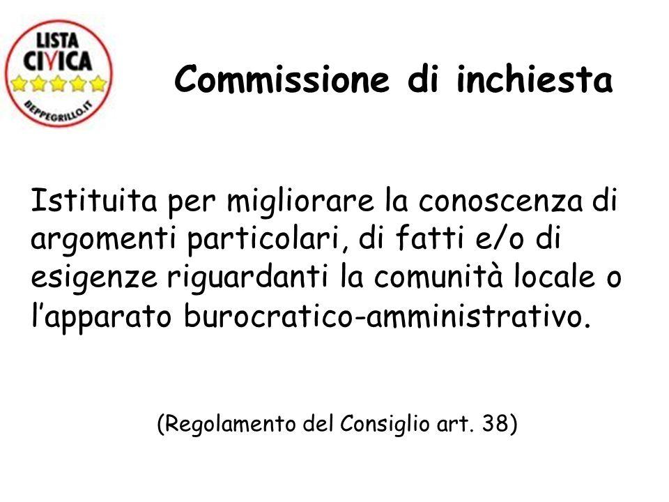 Commissione di inchiesta