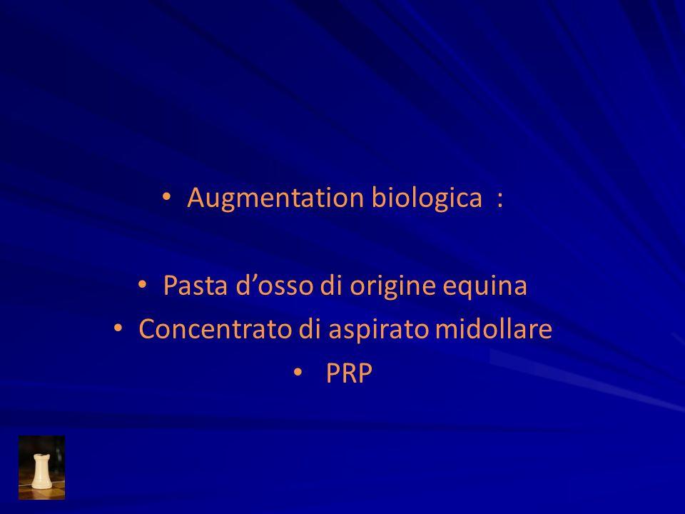 Augmentation biologica : Pasta d'osso di origine equina