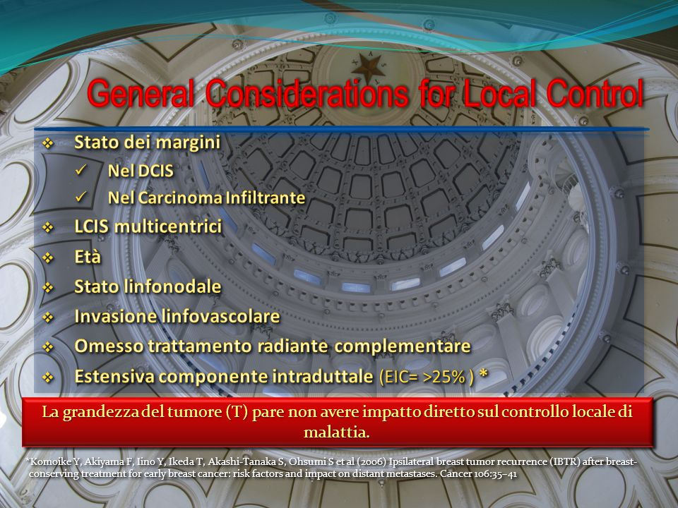 General Considerations for Local Control