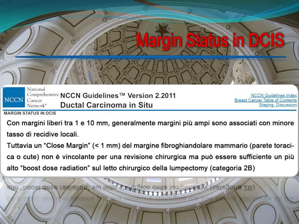 Margin Status in DCIS