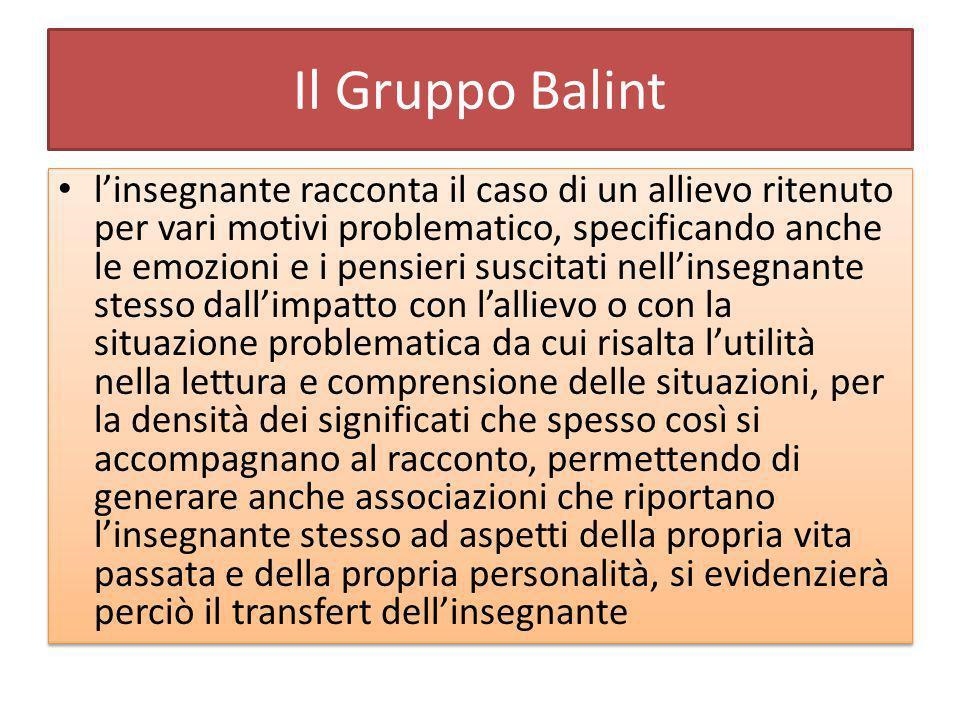 Il Gruppo Balint