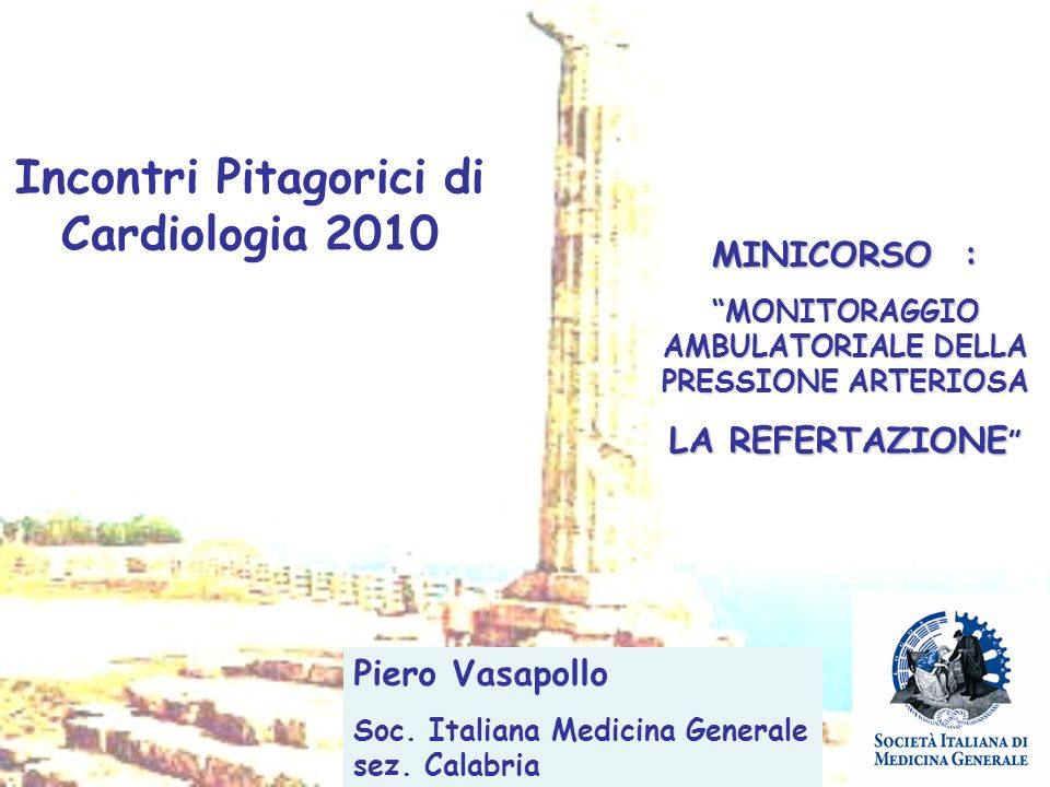Incontri Pitagorici di Cardiologia 2010
