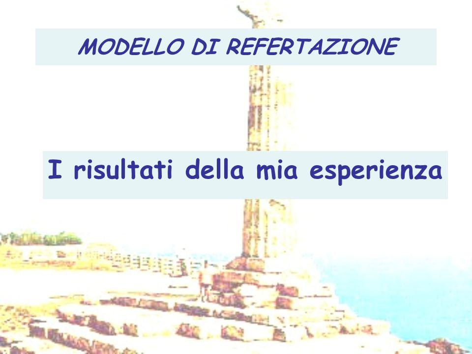 MODELLO DI REFERTAZIONE