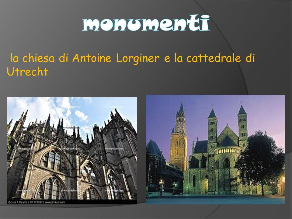 monumenti la chiesa di Antoine Lorginer e la cattedrale di Utrecht