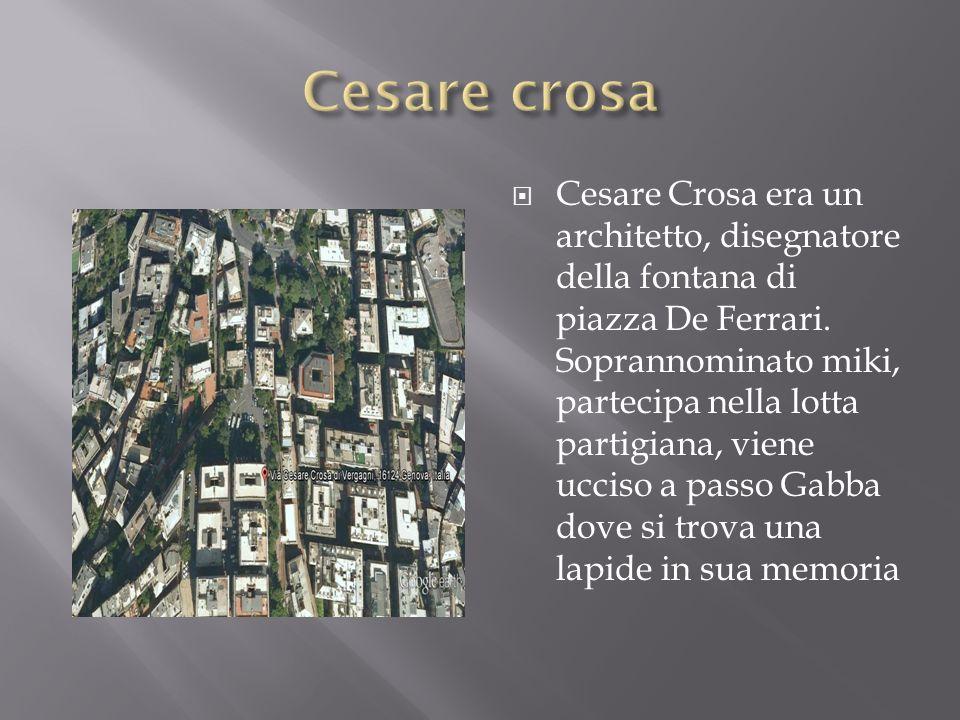 Cesare crosa