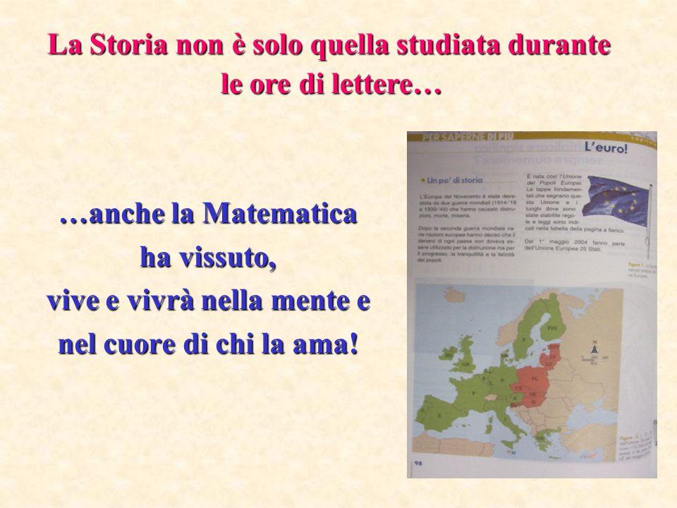 La Storia non è solo quella studiata durante le ore di lettere…