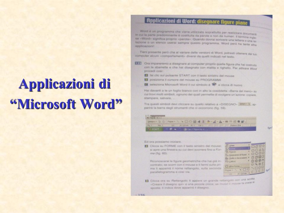 Applicazioni di Microsoft Word
