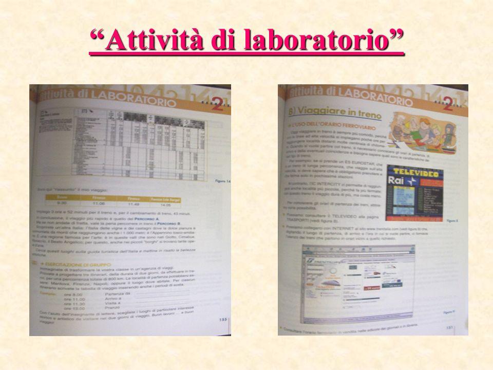 Attività di laboratorio