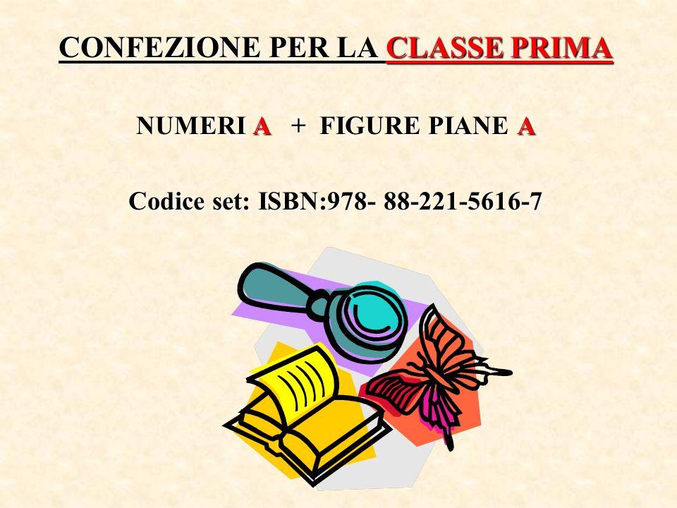 CONFEZIONE PER LA CLASSE PRIMA