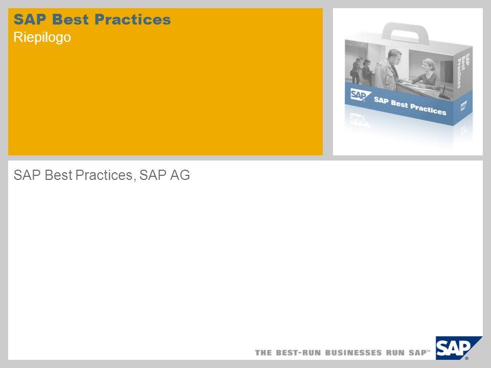 SAP Best Practices Riepilogo