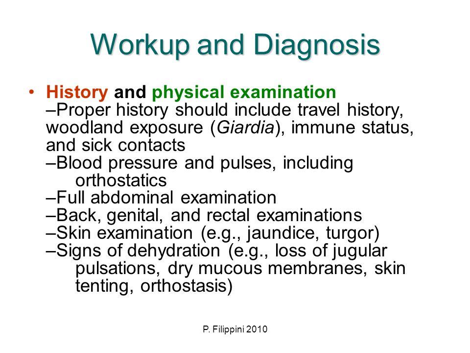 Workup and Diagnosis
