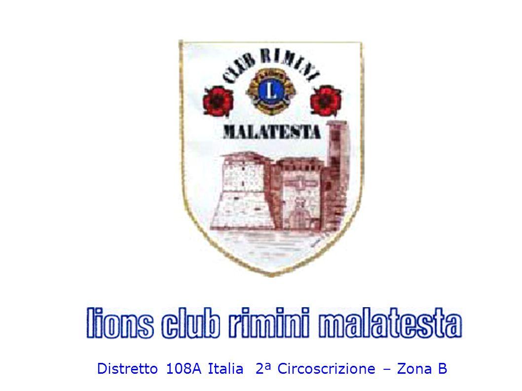Distretto 108A Italia 2ª Circoscrizione – Zona B
