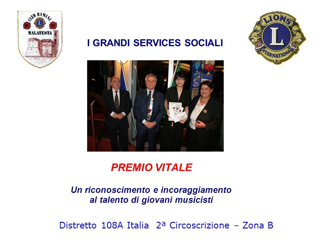I GRANDI SERVICES SOCIALI