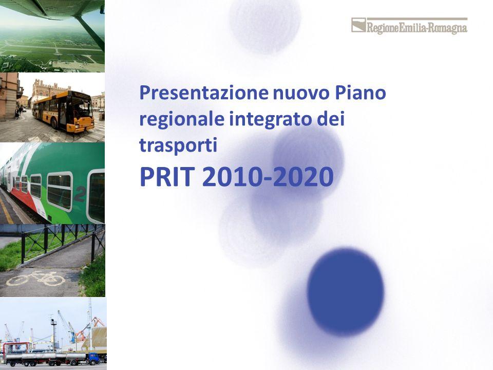 Presentazione nuovo Piano regionale integrato dei trasporti