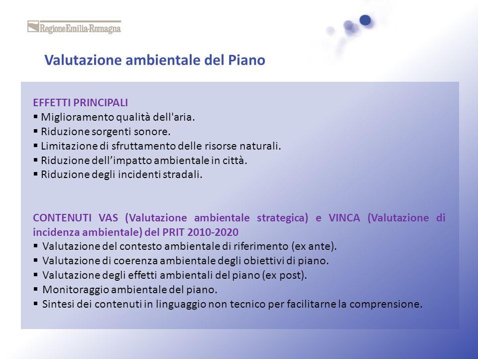 Valutazione ambientale del Piano