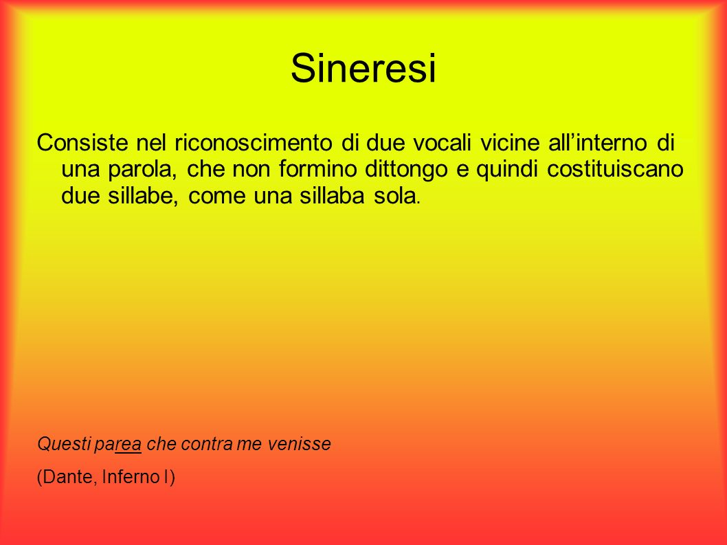 Sineresi