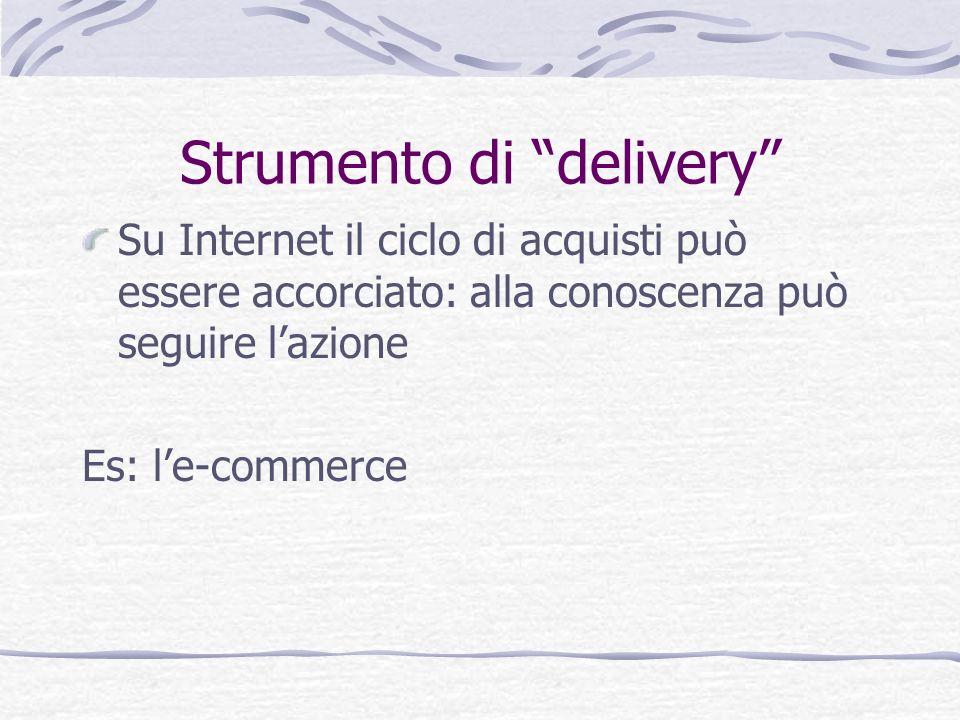 Strumento di delivery