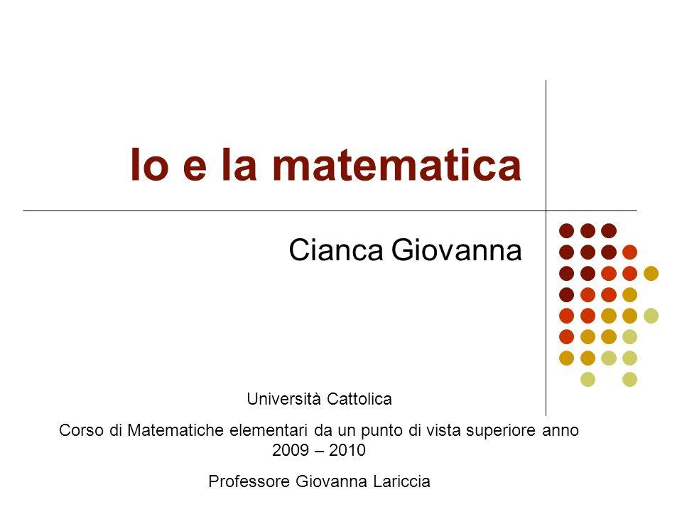 Professore Giovanna Lariccia
