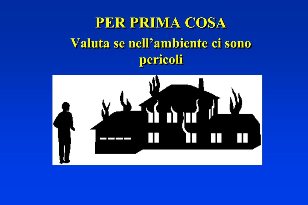 Italian Resuscitation Council European Resuscitation Council - ppt scaricare